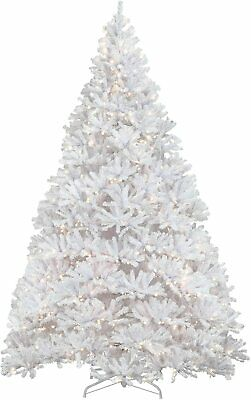 National Tree KWW7-300-120 Christmas Tree, 12 ft, White