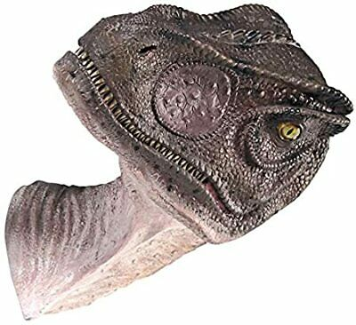 Design Toscano Giant Allosaurus Dinosaur Wall Trophy Sculpture, Mouth Closed