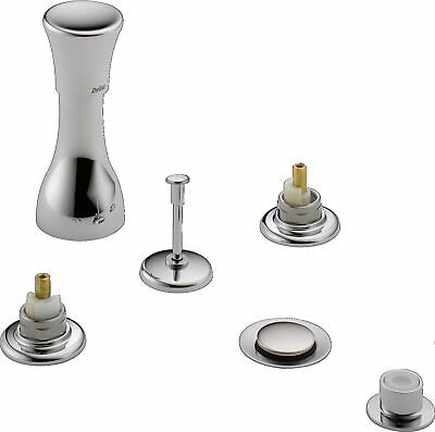 Delta 44-LHP Bidet Faucet without Handles, Chrome