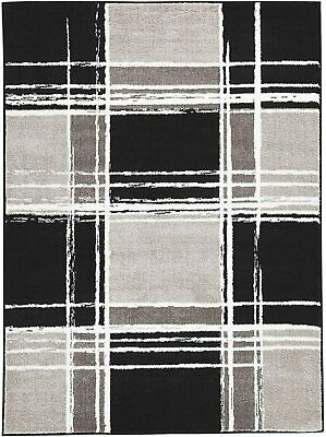 Ashley Furniture Signature Design - Ramy Medium Rug - Black/White