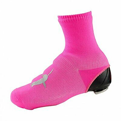 SEALSKINZ Unisex Waterproof All Weather Cycle Oversock Pink Large