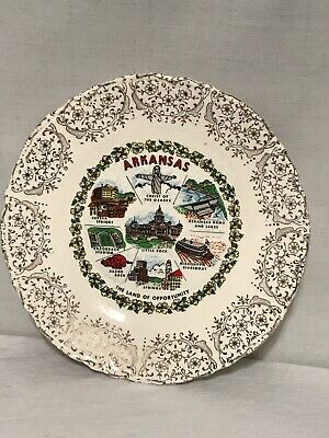 ARKANSAS Collectible Decorative State Plate