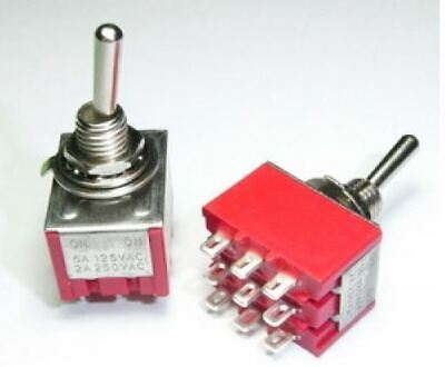 3PDT Toggle Switch Guitar Effects UK Supplier