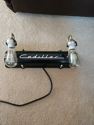 1949-53 Cadillac wall hanger Valve Covers lights man Cave