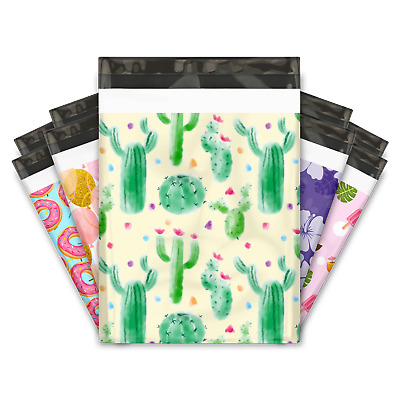 "10x13"" Designer Poly Mailers Shipping Envelopes Premium Colorful Printed Bags"