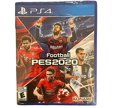 Konami eFootball PES 2020 Pro Evolution Soccer PS4 Playstation 4 NEW + Sealed