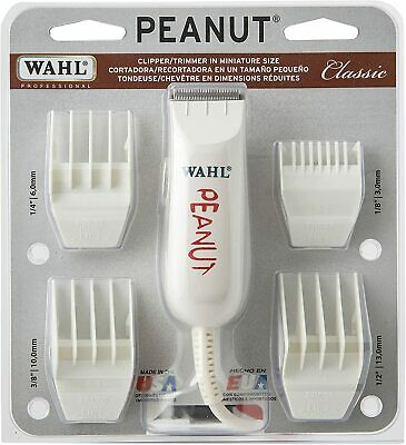 Wahl Professional Peanut Hair Clipper / Trimmer  BLACK COLOR