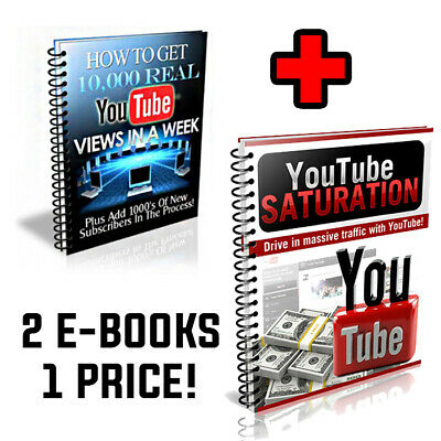 Double Ebook How to win subscribers and Money on Youtube! Saturation and views
