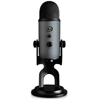 Blue Yeti 3 Capsule USB Microphone Slate Prefect for Voice Over