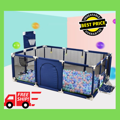 PlayFeel™ Indoor Baby PlayPen Security Gate - Kid Safety Ball Pool Safe Fence