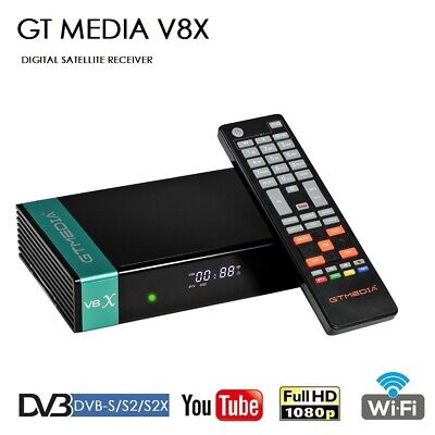 FTA GTMedia V8X Full HD DVB-S/S2/S2X Satellite TV Receiver Upgrade From V8 Nova