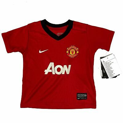 LB Authentic Manchester United Junior Home Shirt 2011//12 11-12yrs Size