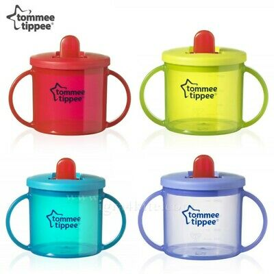 tommee tippee free flow cup 4 month