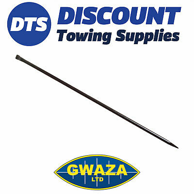 Gwaza 5ft (1500mm) Digging Bar - One Flat End - One Pointed end