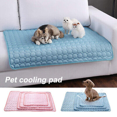 Pet New Summer Cooling Mat Cold Gel Cool Pad Comfty Cushion for Dog Cat Puppy~