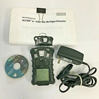 MSA ALTAIR 4 Multigas Detector with Operating Manual and Charger