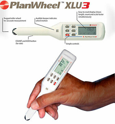 Scalex Planwheel XLU3 Plan / Map measuring tool