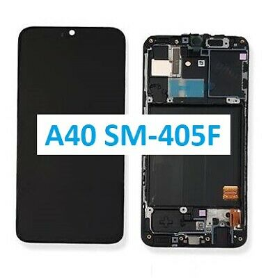 Display Touch Lcd Samsung A40 2019 A405 Originale Gh82-19672A A40 Nero