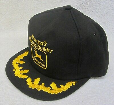 Vintage JOHN DEERE RV CHASSIS BUILDER HAT CAP K-Product Trucker Tractor USA RARE