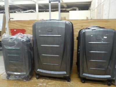 Samsonite Winfield 2 Hardside Expandable Luggage with Spinner Wheels, Charcoal