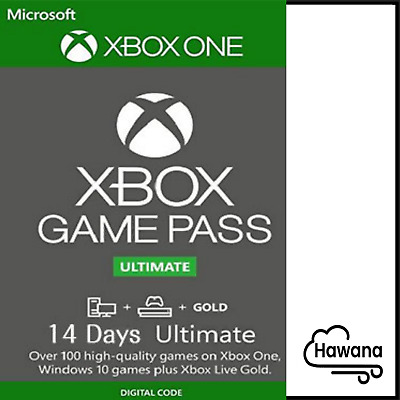 XBOX LIVE 14 Day GOLD + Game Pass (Ultimate) Trial Code