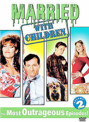 Married with Children Classic Bundys The Most Outrageous Episodes DVD Vol 2 EUC