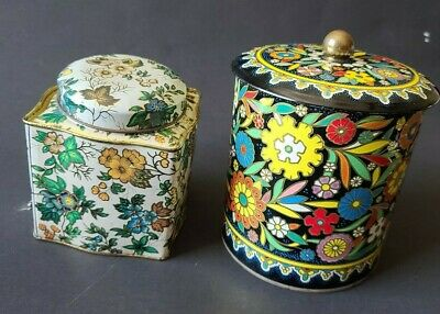 VIntage Daher Tins Made in England