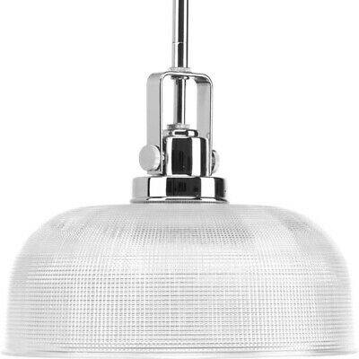 Progress Lighting-Archie - One Light Pendant  Chrome Finish with Clear