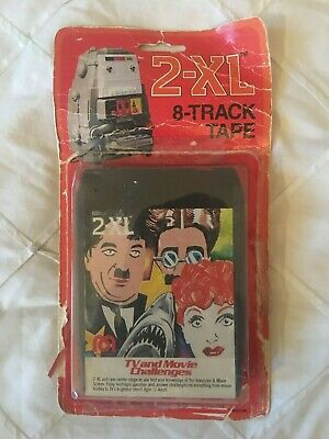 2Xl 8-Track Tape Tv & Movie Challengers New 1979