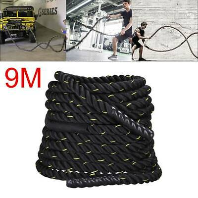 Battle Power Rope 50mm Battling Sport Bootcamp Gym Exercise Fitness Training NEW