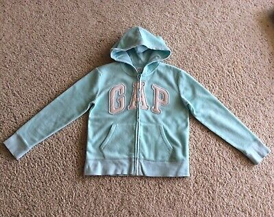 Girls Gap Kids Logo Fleece  Hoodie Sweatshirt Size XL (12)