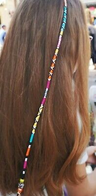 blues braid,reusable pinks hair wrap holiday festival gift 21//25cm plait in