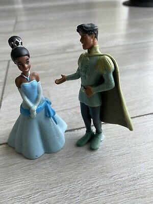 DISNEY BULLYLAND PRINCESS /& FROG/'S PRINCE NAVEEN TOY// CAKE TOPPER COLLECTABLE