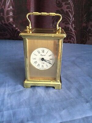A Beautiful Masked Dial French Carriage Clock