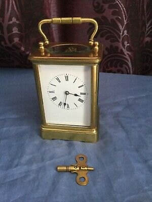 An Impressive Large Antique French Carriage Clock