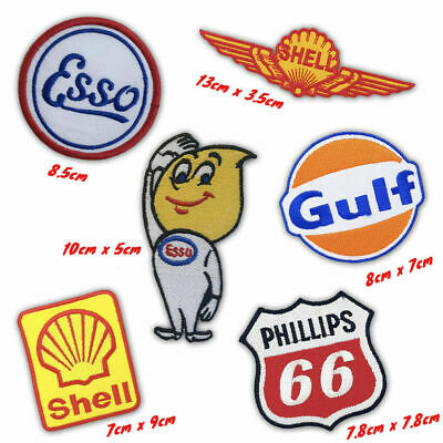 Oil Company badges jacket t-shirt jeans shoes bag Iron/Sew on Embroidered Patch