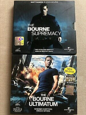 Bourne Supremacy / Ultimatum Video CD VCD