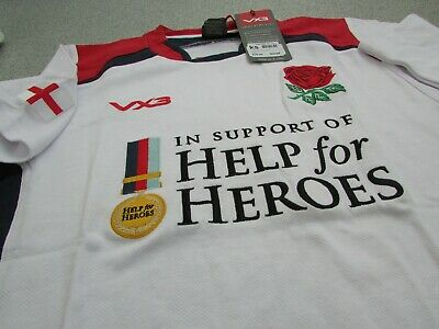 VX3 Mens Help for Heroes Wales 2019 20 Rugby T-Shirt Tee Top