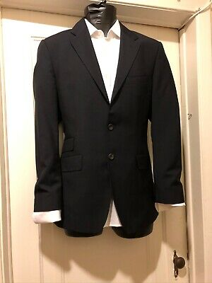 Paul Smith London Blazer Sz 38 Made in Italy The Westbourne Mohair Blend Navy