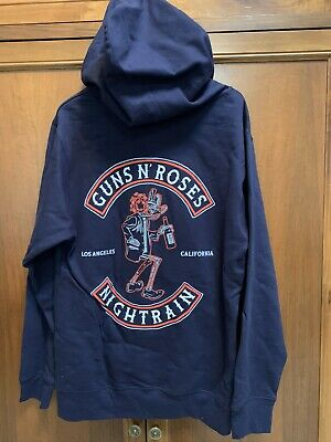 Guns N'Roses Felpa Ufficiale Nightrain Member sweatshirt Hoodies Official