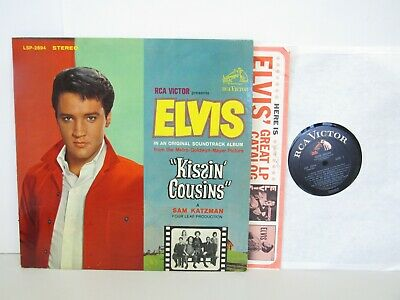 Elvis Presley  -  Kissin Cousins Movie Soundtrack  - Rock LP - Stereo
