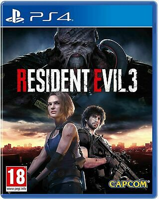 Resident Evil 3 Remake Ps4 Playstation 4 Gioco Nuovo Sigillato Uk Cd Italiano