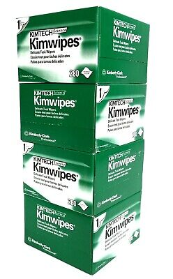 Kimtech Science KimWipes Delicate Task Wipers (4 Boxes)