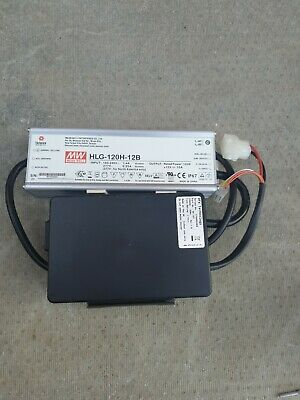 HLG-120H-12B Pwr sup.unit switched-mode 120W 10A MEANWELL