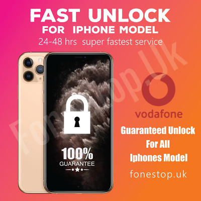 Vodafone Unlock Code service iPhone 5,5S,5C,6,6PLUS ,6S, 6SPLUS Express