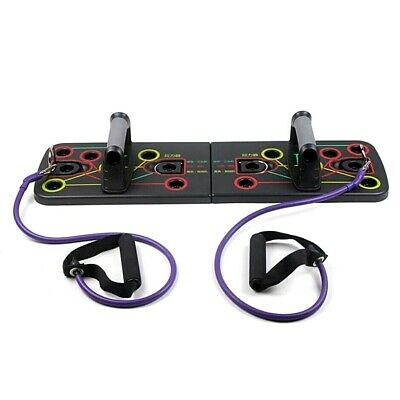 9 In 1 Push Up Rack Board Stand Home Body Exercise Work Out Train Fitness Gym