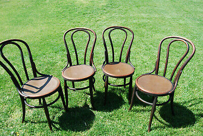 Bentwood Parlor Style Chairs (4)