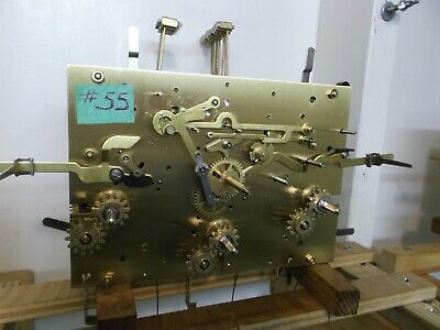 Kieninger/Howard Miller Sequential Triple Chime Cable Grandfather Clock Movement
