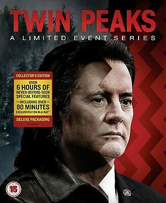 Twin Peaks: A Limited Event Series (Season 3) (Blu-ray, 8-disc, Showtime, 2017)