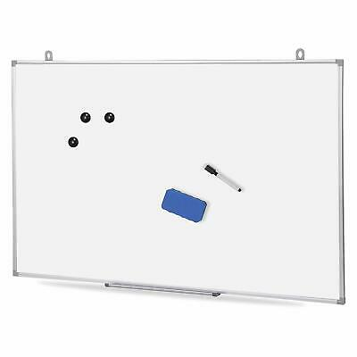 Magnetic Whiteboard Dry Erase White Board Wall Hanging Board  36 x 24 inch